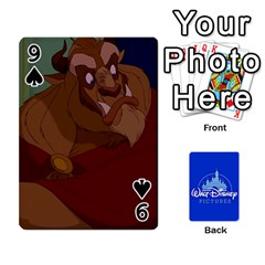 Cartes Disney Classique By Panicalltime Front - Spade9