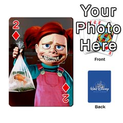 Cartes Disney  pixar  By Panicalltime   Playing Cards 54 Designs (rectangle)   G7jef8mislxf   Www Artscow Com Front - Diamond2