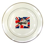 anarchy-in-the-uk Porcelain Plate