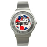 anarchy-in-the-uk Stainless Steel Watch