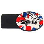 anarchy-in-the-uk USB Flash Drive Oval (4 GB)