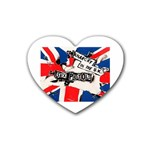 anarchy-in-the-uk Rubber Heart Coaster (4 pack)
