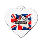 anarchy-in-the-uk Dog Tag Heart (Two Sides)