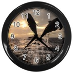 bottle nose Wall Clock (Black)