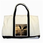 bottle nose Two Tone Tote Bag