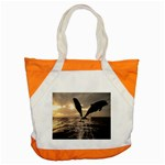 bottle nose Accent Tote Bag