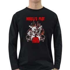 Mikell s Plot  test Long Sleeve Dark T Front