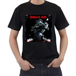 Mikell s Plot Front  Black T-Shirt