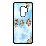 clouds angel cherubs  Samsung Galaxy S9 Plus Seamless Case(Black)