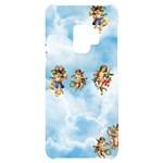 clouds angel cherubs  Samsung S9 Black UV Print Case