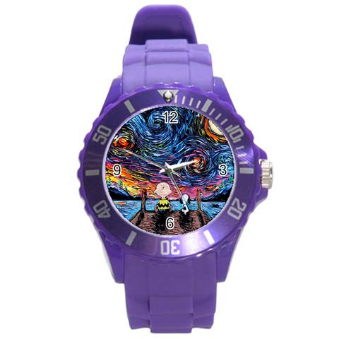 By Wayland Dykes   Round Plastic Sport Watch (l)   Nkq7bz74mhxj   Www Artscow Com Front