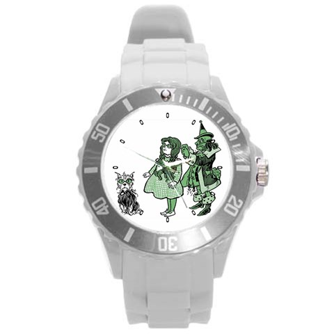 By Wayland Dykes   Round Plastic Sport Watch (l)   64wbwcmlny0t   Www Artscow Com Front