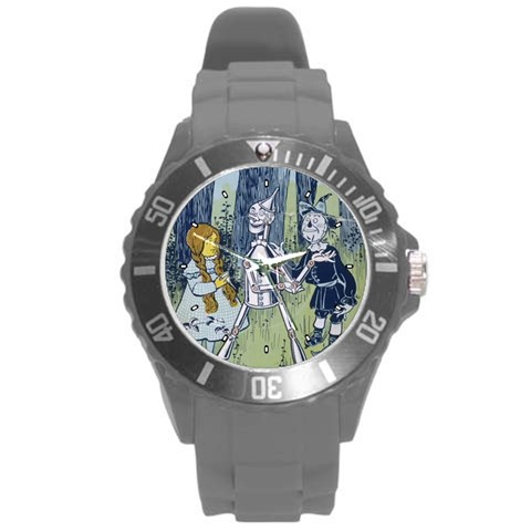 By Wayland Dykes   Round Plastic Sport Watch (l)   Awpwtqoqtfvm   Www Artscow Com Front