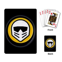 motorstorm head logo Playing Cards Single Design from ArtsNow.com Back