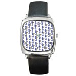 Seahorses Jewelry Square Metal Watch