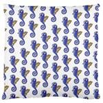 Seahorses Housewares Large Cushion Case (Two Sides)