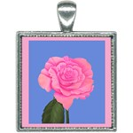 Roses Womens Fashion Square Necklace