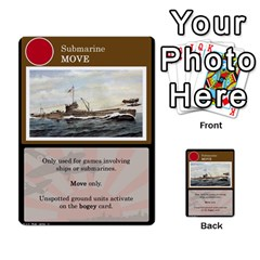 Bth2 Cards V2 3/3 By Rippergull   Multi Purpose Cards (rectangle)   1zzy0095ke9k   Www Artscow Com Front 16
