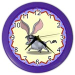 Big ears Color Wall Clock