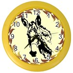 Donkey head Color Wall Clock