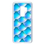 Mermaid Tail Blue Samsung Galaxy S9 Plus Seamless Case(White)