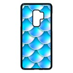 Mermaid Tail Blue Samsung Galaxy S9 Plus Seamless Case(Black)