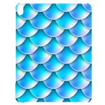 Mermaid Tail Blue Apple iPad Pro 12.9   Black UV Print Case