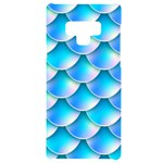 Mermaid Tail Blue Samsung Note 9 Black UV Print Case