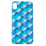 Mermaid Tail Blue Apple iPhone XR TPU UV Case
