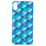 Mermaid Tail Blue Apple iPhone XS TPU UV Case