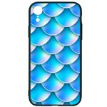 Mermaid Tail Blue iPhone XR Soft Bumper UV Case