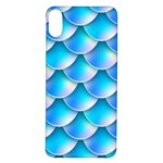 Mermaid Tail Blue iPhone X/XS Soft Bumper UV Case