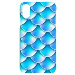 Mermaid Tail Blue iPhone X/XS Black UV Print Case
