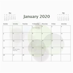 My Jane Calendar By Deborah Jan 2020