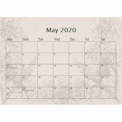 Jane Coffee And Cream (any Year) 2020 Calendar 8 5x6 By Deborah   Wall Calendar 8 5  X 6    Gtsrw241qiaj   Www Artscow Com May 2020