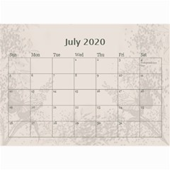Jane Coffee And Cream (any Year) 2020 Calendar 8 5x6 By Deborah   Wall Calendar 8 5  X 6    Gtsrw241qiaj   Www Artscow Com Jul 2020