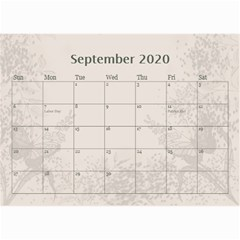 Jane Coffee And Cream (any Year) 2020 Calendar 8 5x6 By Deborah   Wall Calendar 8 5  X 6    Gtsrw241qiaj   Www Artscow Com Sep 2020