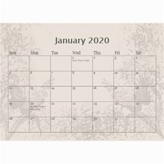 Jane Coffee And Cream (any Year) 2020 Calendar 8 5x6 By Deborah   Wall Calendar 8 5  X 6    Gtsrw241qiaj   Www Artscow Com Jan 2020