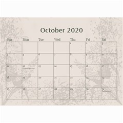 Jane Coffee And Cream (any Year) 2020 Calendar 8 5x6 By Deborah   Wall Calendar 8 5  X 6    Gtsrw241qiaj   Www Artscow Com Oct 2020