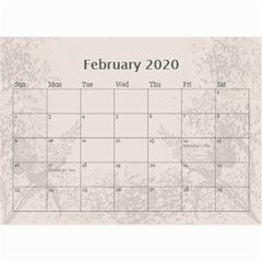 Jane Coffee And Cream (any Year) 2020 Calendar 8 5x6 By Deborah   Wall Calendar 8 5  X 6    Gtsrw241qiaj   Www Artscow Com Feb 2020