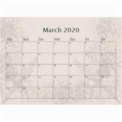 Jane Coffee And Cream (any Year) 2020 Calendar 8 5x6 By Deborah   Wall Calendar 8 5  X 6    Gtsrw241qiaj   Www Artscow Com Mar 2020