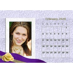 George Delicate Desktop Calendar By Deborah   Desktop Calendar 8 5  X 6    0nsqmyrmxqno   Www Artscow Com Feb 2020