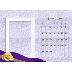 George Delicate Desktop Calendar By Deborah Jun 2020