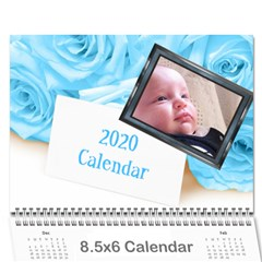 Jane Roses For You (any Year) 2020 Calendar 8 5x6 By Deborah   Wall Calendar 8 5  X 6    Docs3wc7apgl   Www Artscow Com Cover
