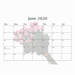 Jane Roses For You (any Year) 2020 Calendar 8 5x6 By Deborah   Wall Calendar 8 5  X 6    Docs3wc7apgl   Www Artscow Com Jun 2020