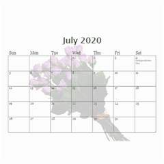 Jane Roses For You (any Year) 2020 Calendar 8 5x6 By Deborah   Wall Calendar 8 5  X 6    Docs3wc7apgl   Www Artscow Com Jul 2020