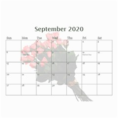 Jane Roses For You (any Year) 2020 Calendar 8 5x6 By Deborah   Wall Calendar 8 5  X 6    Docs3wc7apgl   Www Artscow Com Sep 2020