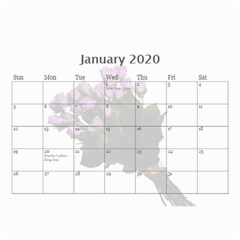Jane Roses For You (any Year) 2020 Calendar 8 5x6 By Deborah   Wall Calendar 8 5  X 6    Docs3wc7apgl   Www Artscow Com Jan 2020
