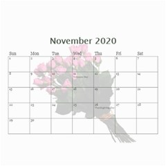 Jane Roses For You (any Year) 2020 Calendar 8 5x6 By Deborah   Wall Calendar 8 5  X 6    Docs3wc7apgl   Www Artscow Com Nov 2020