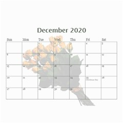 Jane Roses For You (any Year) 2020 Calendar 8 5x6 By Deborah   Wall Calendar 8 5  X 6    Docs3wc7apgl   Www Artscow Com Dec 2020